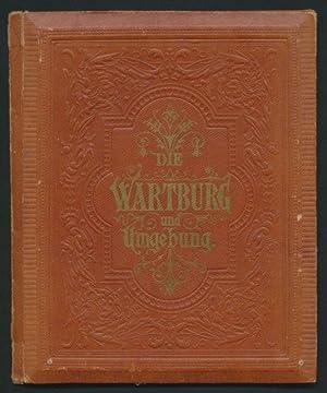 Leporello-Album Wartburg, mit 10 Ansichten, Panorama Eisenach,