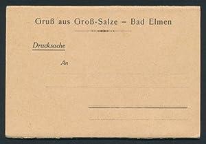 Leporello-Album Gross-Salze - Bad Elmen, mit 12