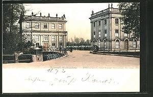 Ansichtskarte Kassel, Marmorbad in der Karlsaue