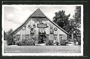 Ansichtskarte Langenhagen, Totalansicht Gaststätte St. Hubertus