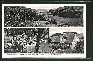 Ansichtskarte Oberappenfeld, Privat-Pension Langenhagen