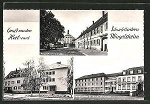 Ansichtskarte Mingolsheim, Sanatorium St. Rochusbrunnen, Heilbad Gantner
