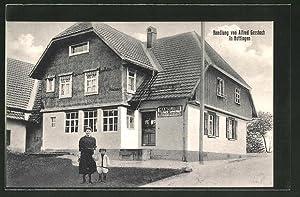 Ansichtskarte Hottingen, Handlung von Alfred Gersbach