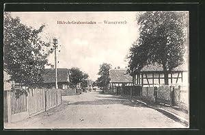 Carte postale Illkirch-Grafenstaden, vue de la rue