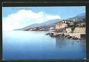 Ansichtskarte Icici, Panorama mit Monte Maggiore