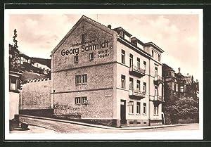 Ansichtskarte Heidelberg, Massschneiderei Georg Schmidt
