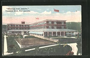 Postcard Port Antonio, View of the Titchfield Hotel
