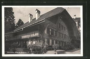 Ansichtskarte Langnau, Malerisches Haus