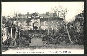 Ansichtskarte Hakone, The Hotel Fujiya of Miyanoshita