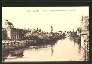 Ansichtskarte Hama, Vallée de l'Oronte vue du
