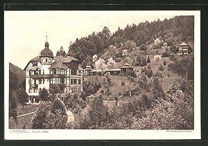 Ansichtskarte Liebenzell, Blick zur Villa Lioba, Schwarzwaldhaus