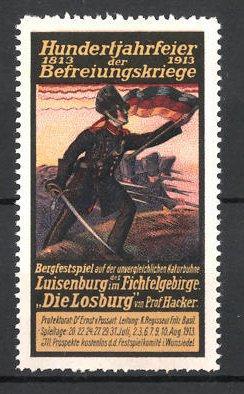 Reklamemarke 100 Jahrfeier der Befreiungskriege, Die Losburg