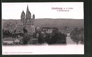 Ansichtskarte Limburg a. Lahn, Blick v. Greifenberg