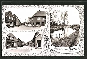 Ansichtskarte Metelen / Westf., verschiedene Ortsansichten