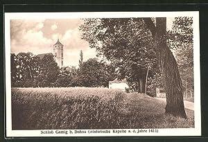 Ansichtskarte Gamig, Schloss Gamig, historische Kapelle