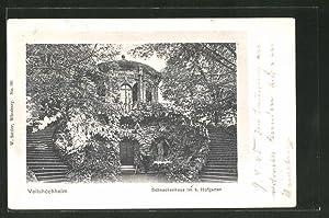 Ansichtskarte Veitshöchheim, Schneckenhaus im k. Hofgarten