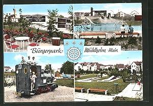 Ansichtskarte Mühlheim / Main, Bürgerpark, Jugendzentrum, Winnetouplatz