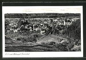 Ansichtskarte Holzappel / Unterlahn, Gesamtansicht aus der