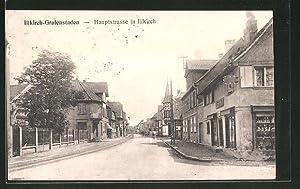 Carte postale Illkirch-Grafenstaden, Blick in die Hauptstrasse
