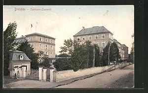 Ansichtskarte Dresden-Neustadt, Garnison-Lazarett, Marienallee 13