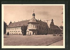 Ansichtskarte Darmstadt, Blick auf das Jagdschloss Kranichstein