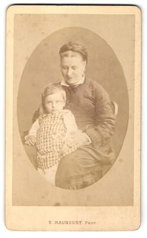 Photo E. Manoury, Angers, Portrait de Mutter