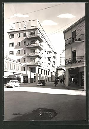 Cartolina Mogliano Veneto, Via Matteotti, Rigobon Radio