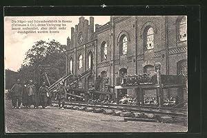 Ansichtskarte Kowno, Nägel- und Schraubenfabrik