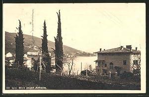 Ansichtskarte Icici, Blick gegen Abbazia