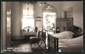 Ansichtskarte Miyanoshita, A Bed-Room, Fujiya Hotel