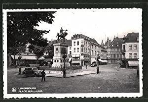 Ansichtskarte Luxembourg, Place Guillaume