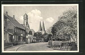 Ansichtskarte Hohenhameln, Blick in die Clauenerstrasse