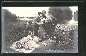 Ansichtskarte Erzherzoge Franz Josef und Ferdinand Max