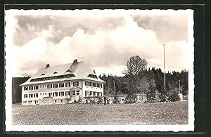 Ansichtskarte Hinterzarten / Schwarzwald, Blick zum Rhodia-Erholungsheim