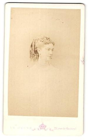 Photo Mon. Levitsky, Paris, Portrait de Fräulein