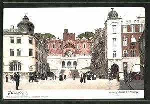 Ansichtskarte Helsingborg, Konung Oscar IIs terrass
