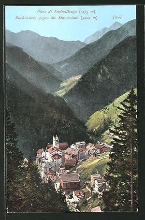 Cartolina Tirol, ieve di Livinallongo, Buchenstein gegen