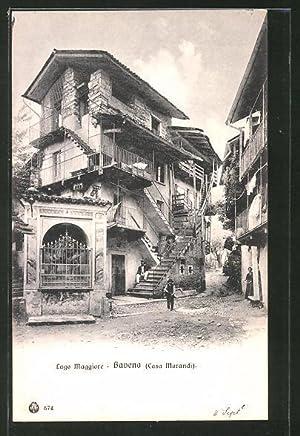 Cartolina Baveno, Casa Morandi, Haus mit vielen