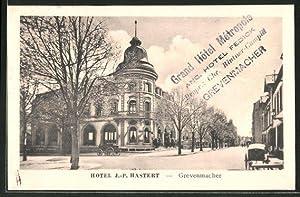 Ansichtskarte Grevenmacher, Eingang in das Hotel J.-P.