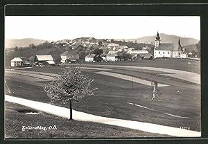Ansichtskarte Kollerschlag, Blick über Felder auf die