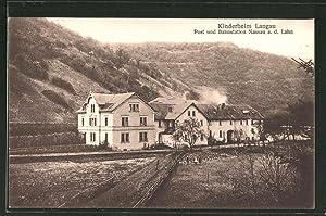Ansichtskarte Nassau a. d. Lahn, Kinderheim Langnau