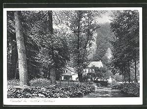 Ansichtskarte Fröndenberg, Gaststätte Platthaus