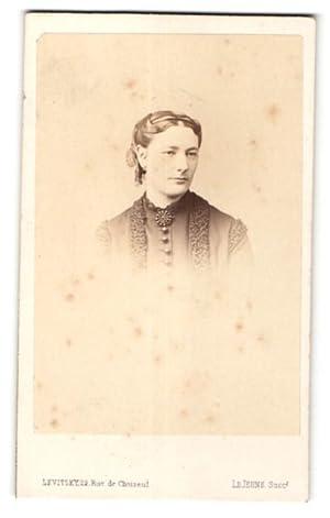 Photo Levitsky, Paris, Portrait de hübsche Dame