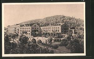 Ansichtskarte Heidelberg, Blick zum Victoria-Hotel, Bes. Fritz