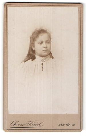 Fotografie Ch. van Kervel, Den Haag, Portrait
