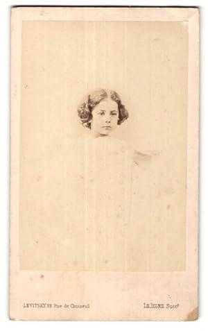 Photo Levitsky, Paris, Portrait de hübsches Fille