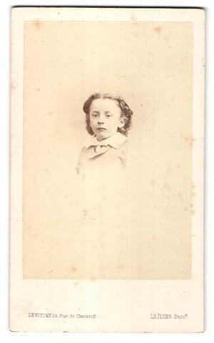 Photo Levitsky, Paris, Portrait de Fille avec