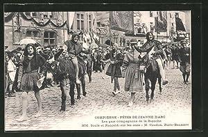 Ansichtskarte Compiègne, Fêtes de Jeanne d'Arc, Les