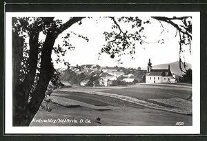 Ansichtskarte Kollerschlag / Mühlkreis, Teilansicht mit Kirche
