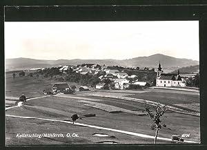 Ansichtskarte Kollerschlag, Gesamtansicht mit Umgebung